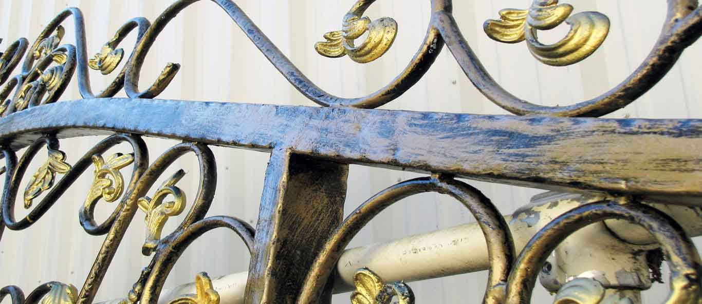 ornamental iron components manufacturers exporters in india