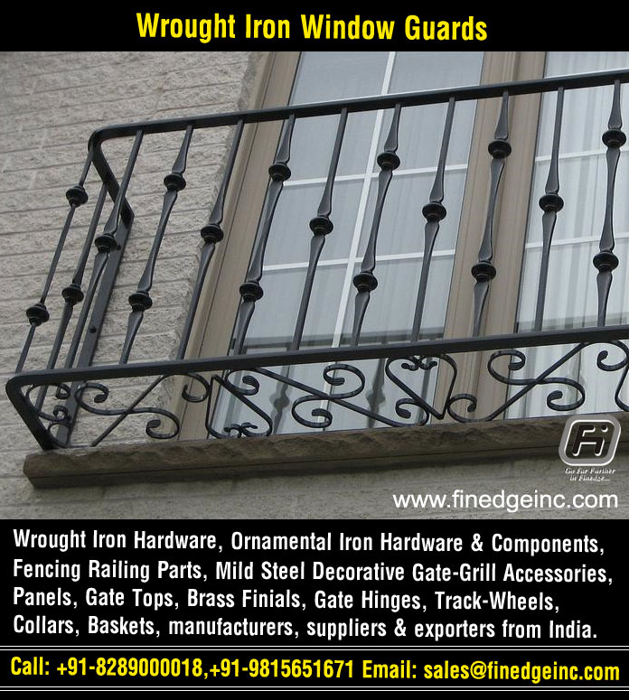 stair railing hardware wrought iron hardware ornamental iron components fencing parts decorative steel railing materials gate grill accessories parts manufacturers suppliers exporters in India UK USA Germany Italy Canada UAE