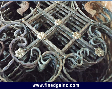 Wrought Iron Hardware Gate Grills Railing Fencing Hardware Parts manufacturers exporters in India Punjab Ludhiana