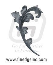 Wrought Iron Leaves and Flowers - Ornamental Iron Leaves and Flowers - gate Leaves and Flowers - cast iron Leaves and Flowers - gate hardware - gate parts manufacturers exporters suppliers in india